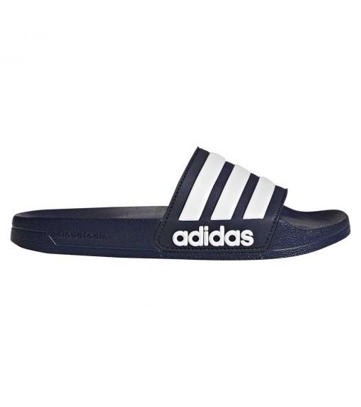 Adidas Men's Slides Adilette Cloudfoam Navy Blue AQ1703 | Water sports Footwear | scorer.es