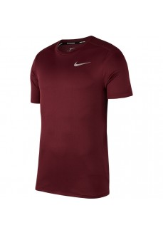 Camiseta Hombre Nike Dri-Fit Breathe Run Granate 904634-681
