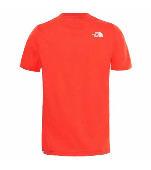 Camiseta Niño The North Face Easy Tee/Fiery Roja NF00A3P7M6J1 | scorer.es