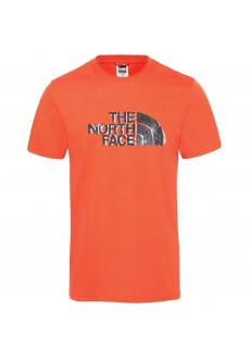 Camiseta Hombre The North Face Flash Tee/Fiery Naranja T93OFU15Q | scorer.es