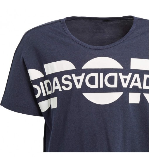 Camiseta Niño Adidas ID Boxy Graphic Marino DV0281 | scorer.es
