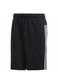 Pantalón Corto Adidas Must Haves 3-Stripes French Terry Negro DT9903