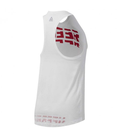 Reebok Women's T-Shirt Wor Meet You There Grap White DU4873 | Short Sleeve | scorer.es