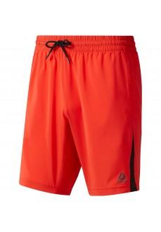Pantalón Corto Hombre Reebok Wor Woven Shorts Rojo DU2176