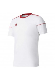 Camiseta Hombre Adidas Squadra 17 Blanco BJ9181 | scorer.es
