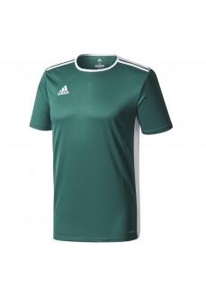 Camiseta Adidas Hombre Entrada18 Verde CD8358 | scorer.es