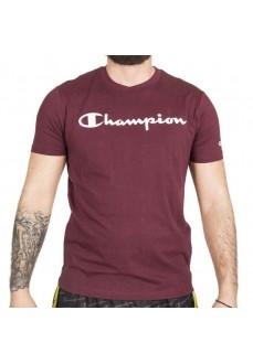 Camiseta Hombre Champion Cuello Caja VS507 SHO Granate | scorer.es