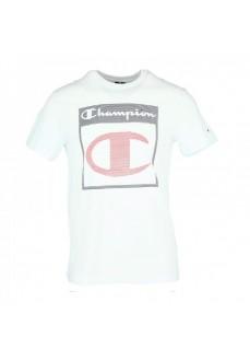 Camiseta Hombre Champion Cuello Caja Ww001 Wht Blanco | scorer.es