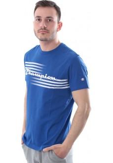 Camiseta Hombre Champion Cuello Caja Bs008 Bai Azul | scorer.es