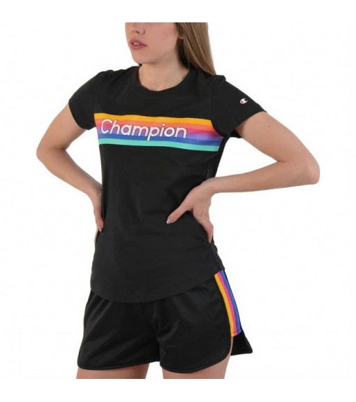 Champion Women's T-Shirt Black 111324 KK001 | Short sleeve T-shirts | scorer.es