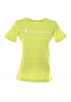 Camiseta Champion Cuello Caja Lima/Allov 111437 GL008 | scorer.es