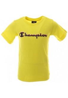Camiseta Hombre Champion Cuello Caja Amarillo 304881 BZY | scorer.es
