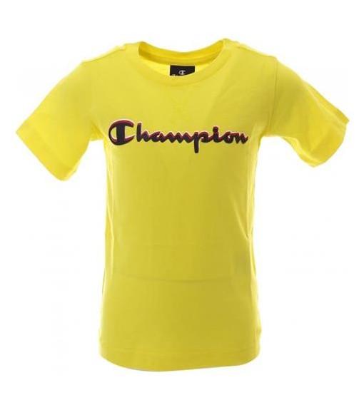 Camiseta Niño Champion Cuello Caja Amarillo 304881 BZY | scorer.es