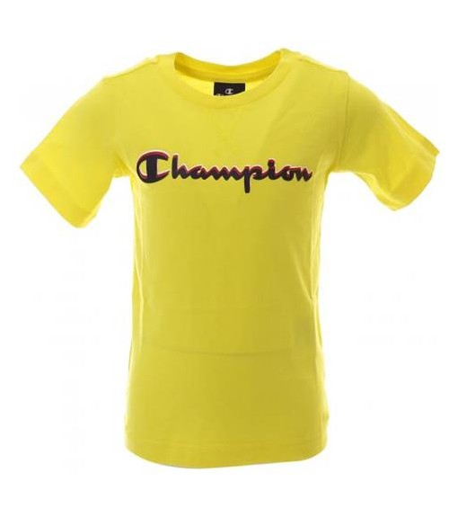 Champion Men's T-Shirt Yellow 304881 BZY | Short Sleeve | scorer.es