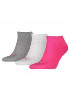 Calcetines Puma Unisex Sneaker Plain 261080001-656 Gris