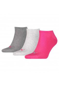 Puma Unisex Sneaker Socks Plain 261080001-656 Gray