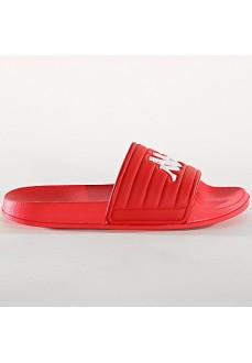 Kappa Flip Flops Matese Red/White 304NC40-947