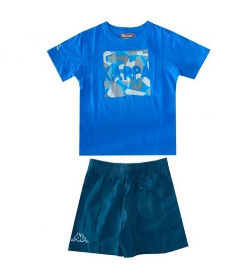 Kappa T-Shirt Ioudaso Set Blue Royal/Navy Blue | Short Sleeve | scorer.es