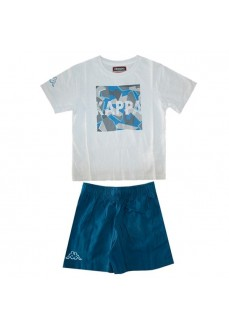 Camiseta Kappa Ioudaso Set White/Blue Navy 304PDB0