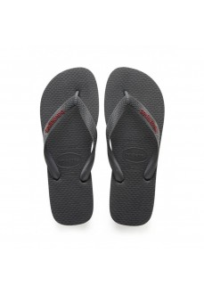 Havaianas Men's Flip Flops Logo Gray Fillet 4108555.0443