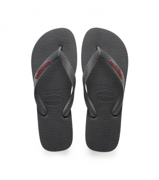 Havaianas Men's Flip Flops Logo Gray Fillet 4108555.0443 | Sandals/slippers | scorer.es