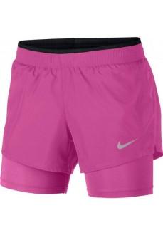 Pantalón Corto Mujer Nike 10K 2IN1 Fucsia 902283-623