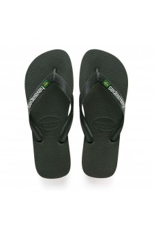 Havaianas Men's Flip Flops Casual Green 4110850.4896 | Sandals/slippers | scorer.es