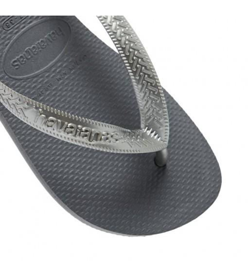 Havaianas Women's Flip Flops Top Bands Steel Gray 4137428.5178 | Sandals/slippers | scorer.es