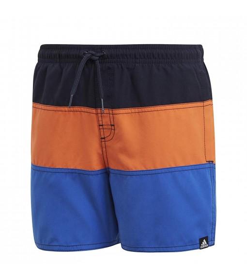Bañador Niño Adidas Colorblock Marino/Naranja/Azul DQ2980 | scorer.es