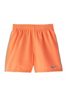 Nike Kids' Swimsuit Swim Solid Orange NESS9654-849