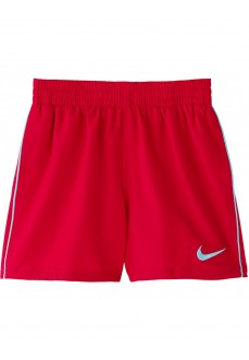 Nike Kids' Swimsuit Swim Solid Red NESS9654-614