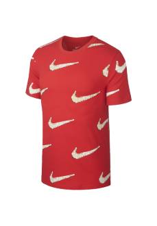 Camiseta Hombre Nike Tee Sznl Roja BQ0633-657 | scorer.es