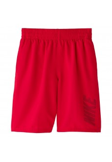 Bañador Niño Nike Swim Solid Rojo NESS9716-614 | scorer.es