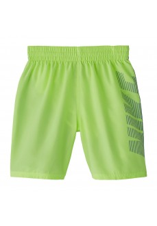 Bañador Niño Nike Swim Solid Verde Fluor NESS9657-739 | scorer.es