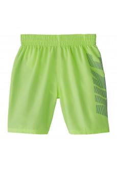 Nike Kids' Swimsuit Swim Solid Green Fluor NESS9657-739 | Swimwear | scorer.es