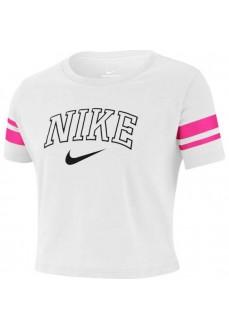 Camiseta Niño Nike Sportswear Blanco BQ0996-100 | scorer.es