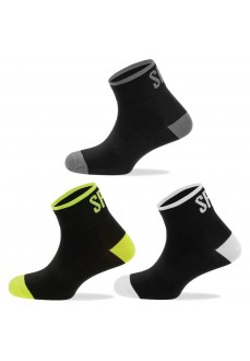 Calcetines Spiuk Pack 3 Anatomic Medio Negro PANME19N | scorer.es