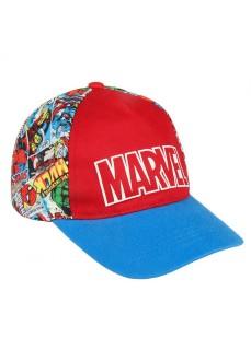 Gorra Niño Cerdá Premium Marvel Rojo/Azul 2200003903