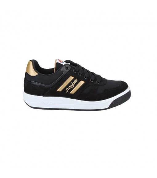 J´Hayber Trainers Spin Black-Gold 66006-279 | Low shoes | scorer.es