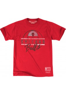 Camiseta Mitchel & Ness Hombre Green Line SS Chicago Bulls Rojo BMTRMM18345-CBURED1