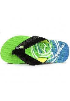 Nicoboco Wave K Green Flip Flops