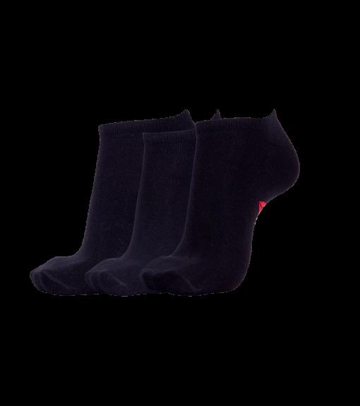 Reebok 3Pk No Show Black Socks | Socks | scorer.es