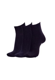 Calcetines Reebok 3Pkr Quarte Black