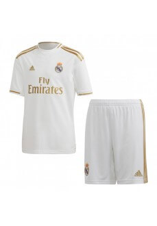 Minikit adidas Real Madrid 1ª Eq 2019/2020 Blanco/Oro DX8841