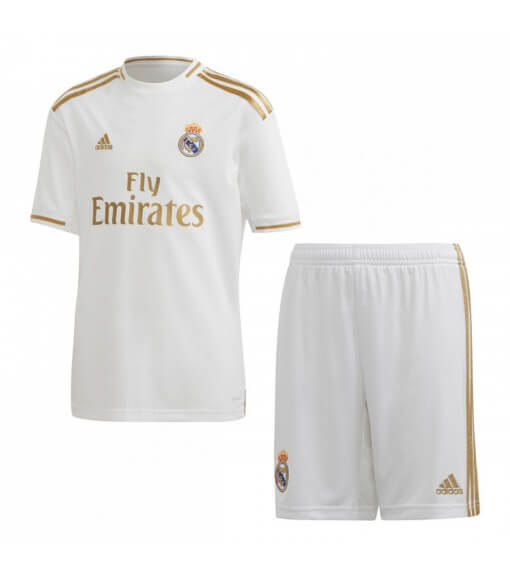 Adidas Real Madrid Football Home Minikit 2019/2020 White/Gold DX8841 | Football clothing | scorer.es
