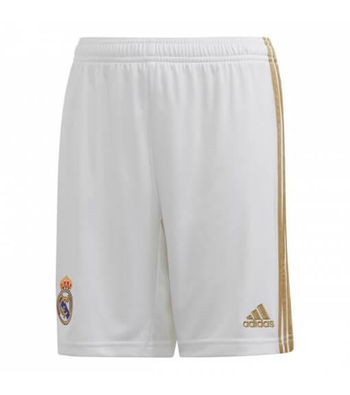 Minikit adidas Real Madrid 1ª Eq 2019/2020 Blanco/Oro DX8841 | scorer.es