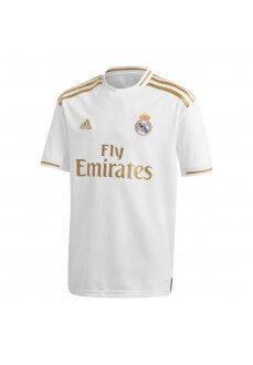 Adidas Kids' Real Madrid Football Home Shirt 2019/2020 White/Gold 2019/2020 White/Gold DX8838