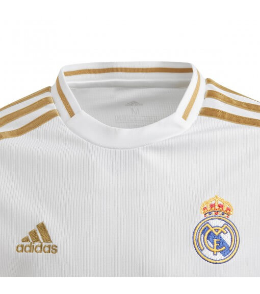Adidas Kids' Real Madrid Football Home Shirt 2019/2020 White/Gold 2019/2020 White/Gold DX8838 | Football clothing | scorer.es