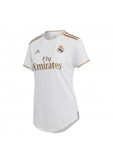 Adidas Women's Real Madrid Football Home Shirt 2019/2020 White/Gold DX8837