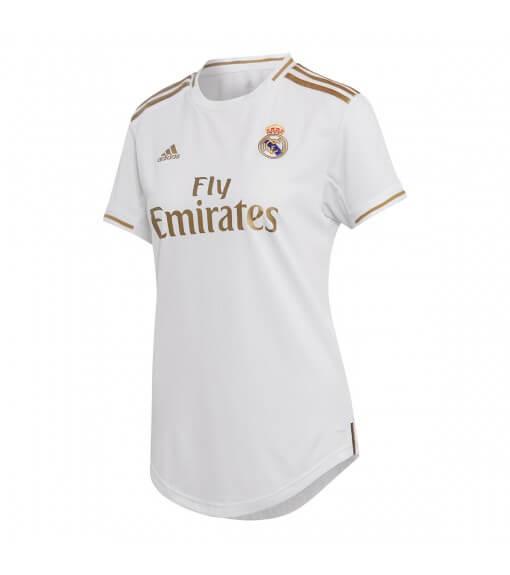 Adidas Real Madrid Women's Home Shirt 2019/2020 White/Gold DX8837 | Football clothing | scorer.es